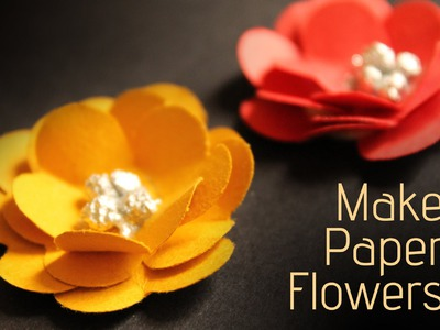 How to Make Paper Flowers - Paper Art