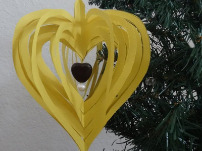 How to make quick and easy paper heart design
