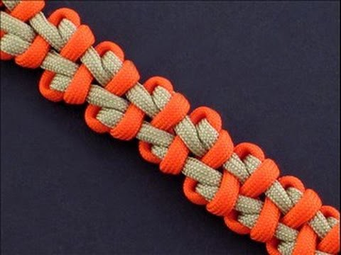 How to Make the Gripped Finger Bar (Paracord) Bracelet by TIAT