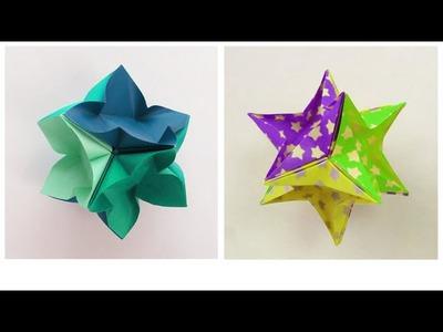 IvaMia Kusudama - Origami Tutorial