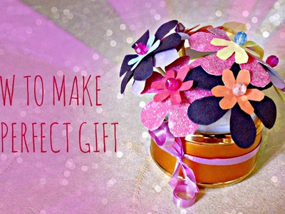 *Kids Crafts*: Mother's Day Gift Flower Bouquet!