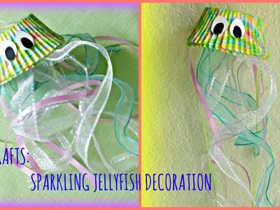 *Kids Summer Crafts*: Sparkling Jellyfish Decoration!