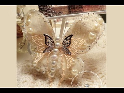 Lace Butterfly Tutorial