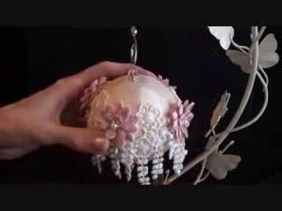 Lace Christmas Baubles ( Tresors de Luxe Design Team Project 11)