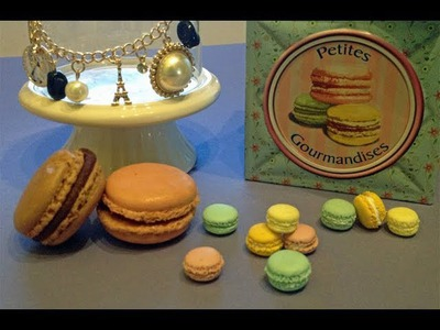 Macarons in fimo (tutorial)