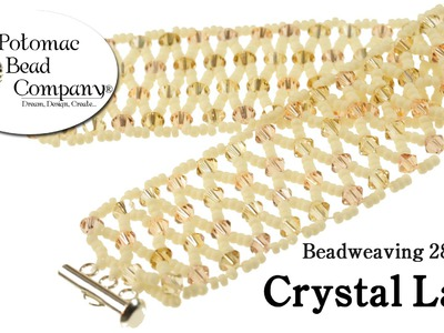 Make a Crystal Lace Bracelet