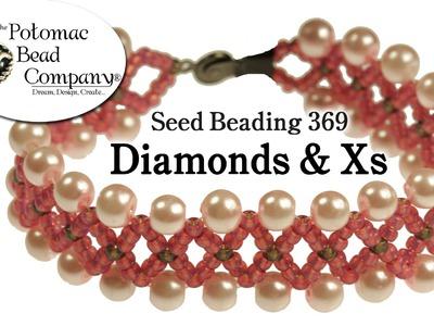 Make a 'Diamonds & Xs' Bracelet
