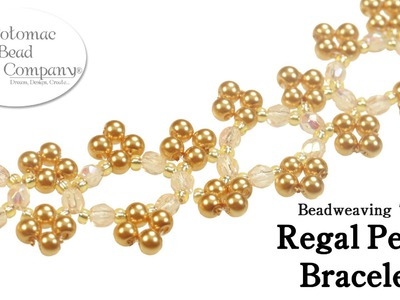 Make a Regal Pearl Bracelet