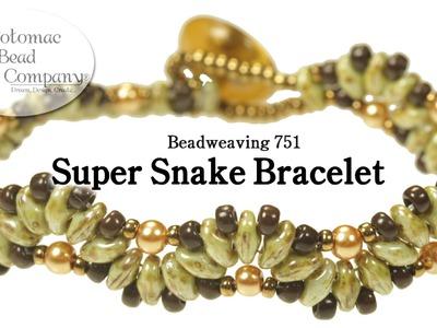 """Make a """"Super Snake"""" Bracelet"""