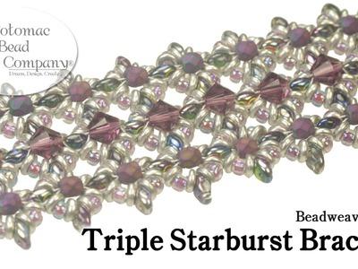 Make a Triple Starburst Bracelet