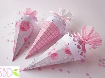 Matrimonio: Coni porta riso.coriandoli - Wedding: Confetti holder cones