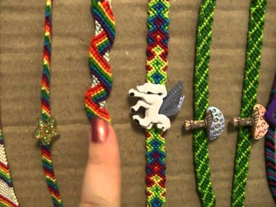 My Friendship Bracelet Collection