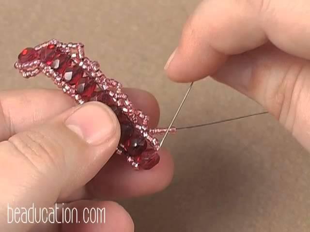 Ogalala Lace Beaded Bracelet Tutorial - Beaducation.com