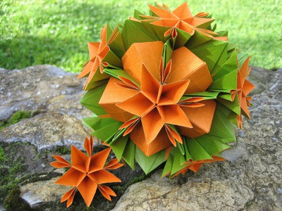 Origami ✿ Asterix ✿ Kusudama