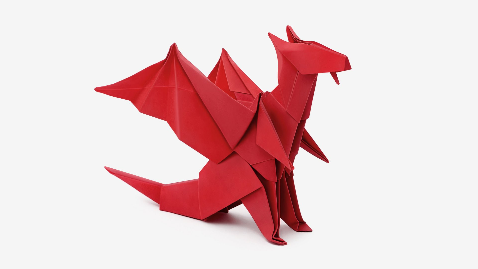 Origami Dragon (Jo Nakashima), My Crafts and DIY Projects - photo#31