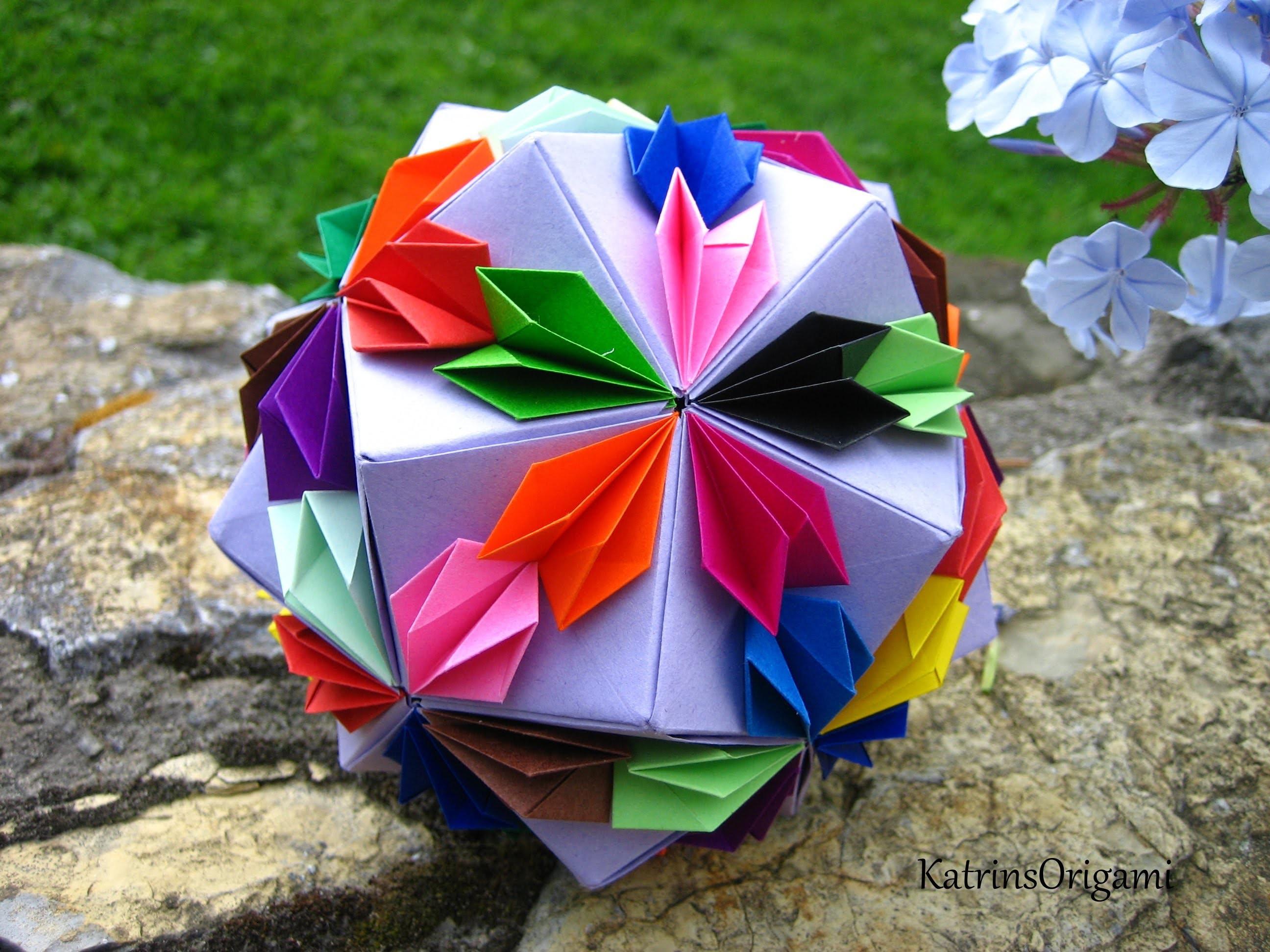 Origami ※ Confetti ※ Kusudama