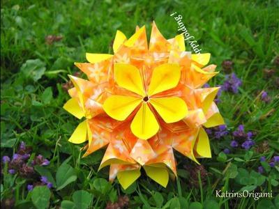 Origami ✿⊱╮ Floristry 2 ✿⊱╮ Kusudama
