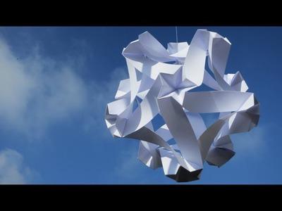 Origami - modular - kusudama - celes 60 - tutorial - dutchpapergirl