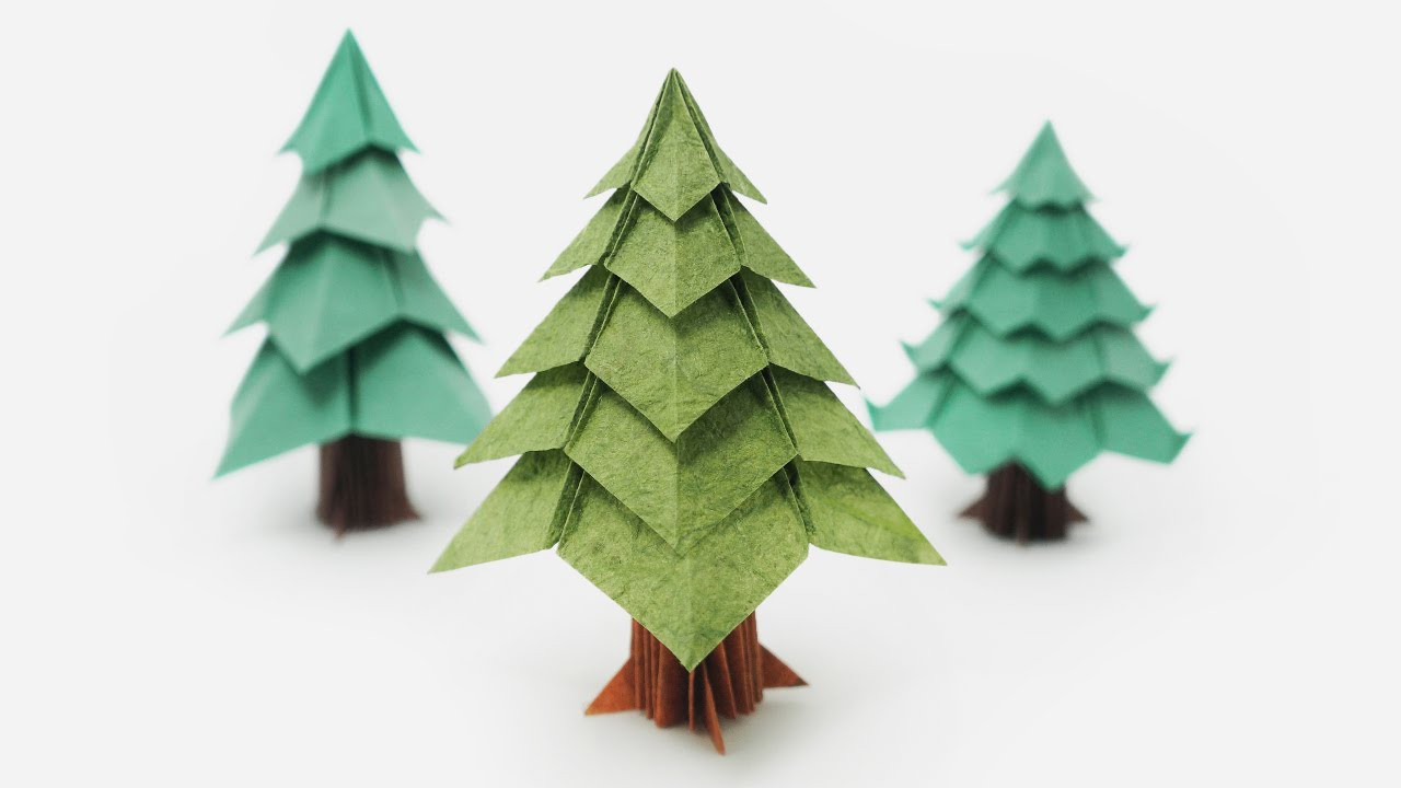Origami Tree (Jo Nakashima) - Christmas Tree