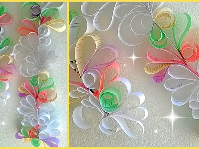 *Paper Swirls Room Decoration DIY*