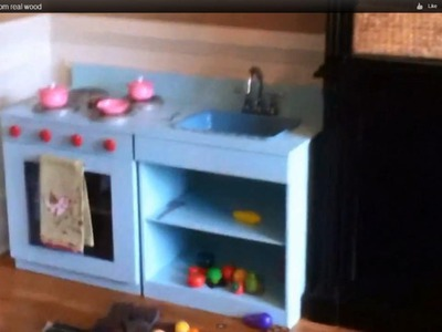 Play Kitchen made from real wood.built to last. Step by step.