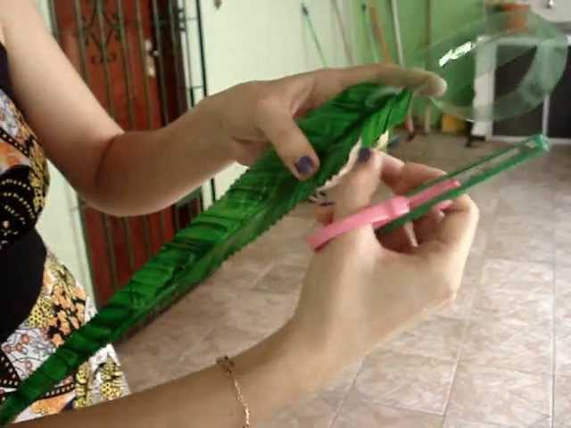 Reciclagem Samambaia de garrafas pet.Flores,plantas e animais.