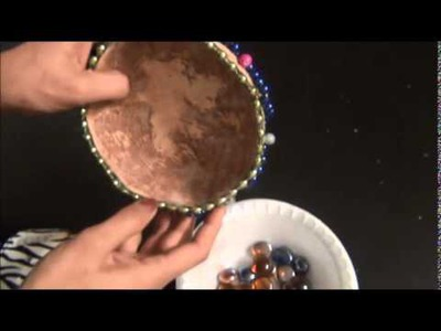 Recycle and DIY: Coconut shells into beautiful CANDLE holder!