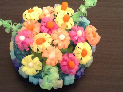 Recycle - Tiny Drinking Straw Flowers