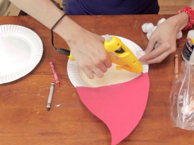 Santa's Face Preschool Crafts : Fun Crafts for Kids