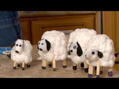 Sophie's World: Paper Cup Lambs