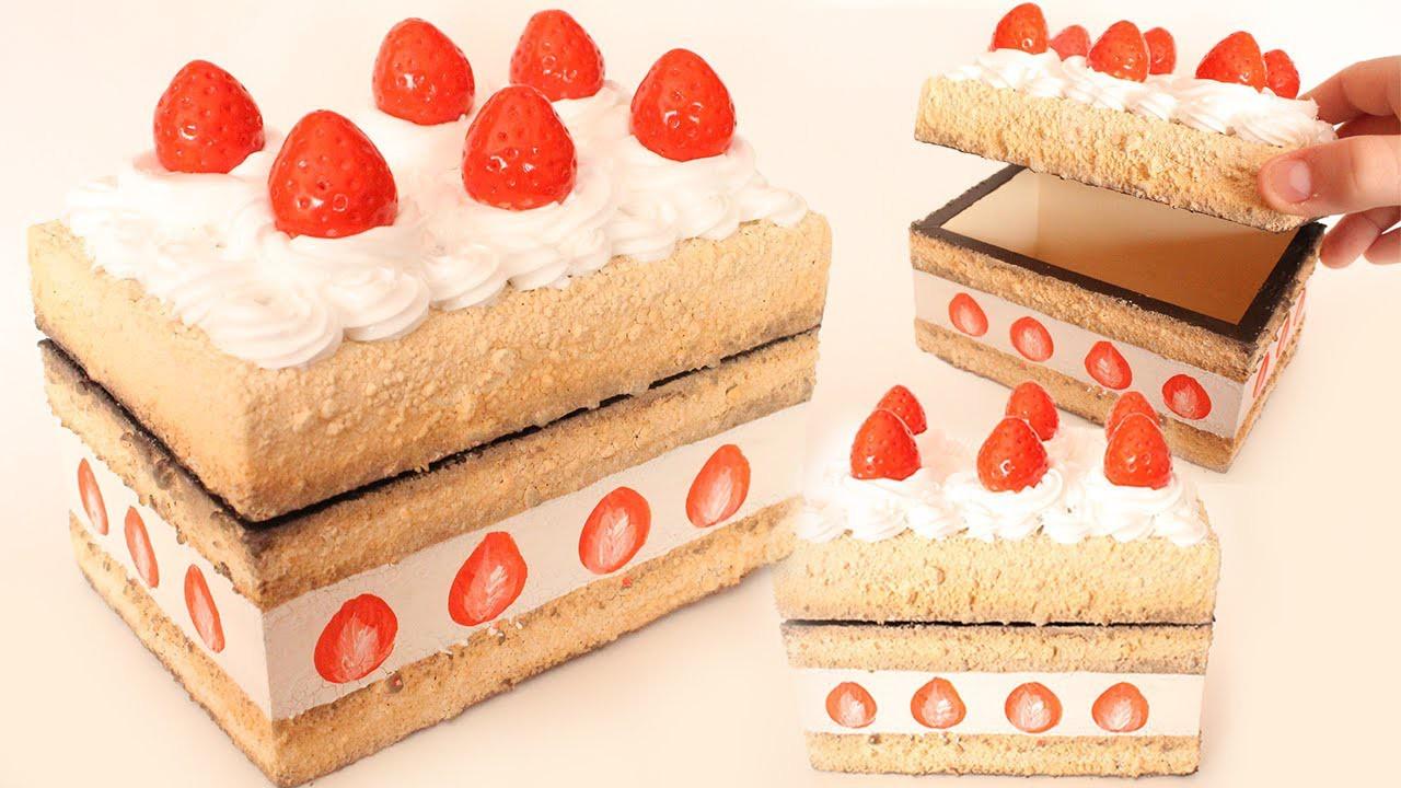 Strawberry Shortcake Deco Box ● DIY