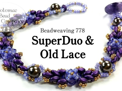 """ SuperDuo & Old Lace "" Bracelet"