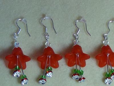 (Tutorial) Christmas Bell Earrings (Video 15)