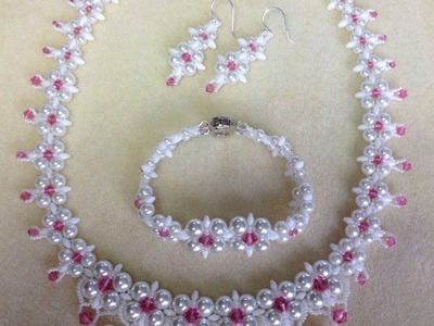 (Tutorial) Dream Wedding Necklace Set PART 2 (Video 59)