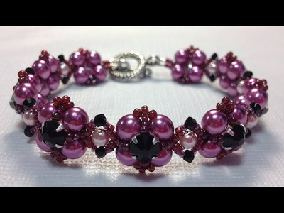 (Tutorial) Scarlina Bracelet (Video 127)
