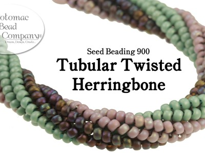 Twisted Tubular Herringbone Stitch