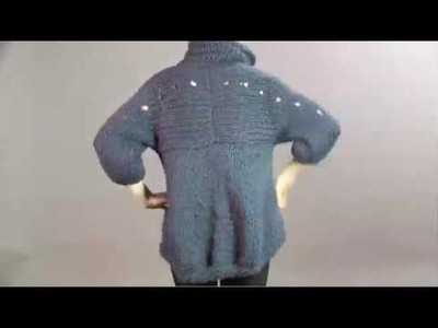 #17 Bulky Coat, Vogue Knitting Winter 2008.09
