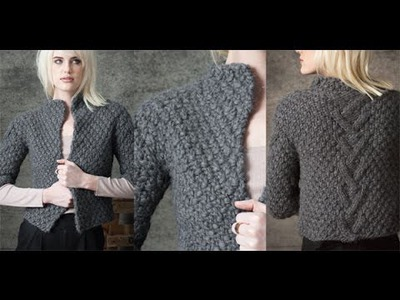 #2 Cropped Jacket, Vogue Knitting Early Fall 2010