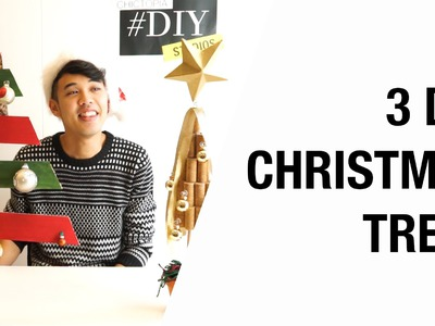3 Ideas for a DIY Christmas Tree   Chictopia