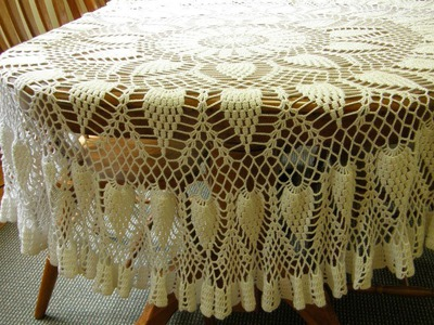 (3) Tableclothes Models Great Lace Designs Crochet Knitting New Trends