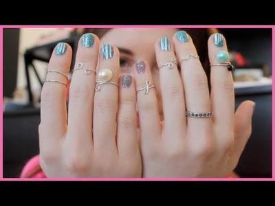 4 DIY Knuckle Rings