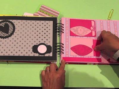 Álbum para niña de 11 años. DIY Scrapbooking