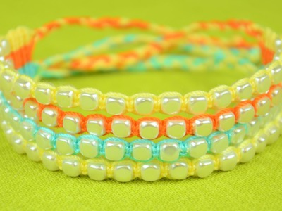Beaded Bracelets - Tutorial