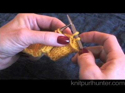 Bind Off In Pattern