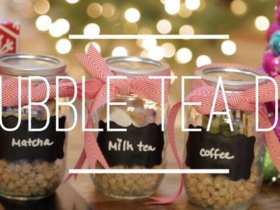 Bubble Tea DIY Gift Idea + Boba Kit GIVEAWAY! (Closed)