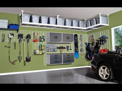 Car garage storage cabinet organization diy ideas