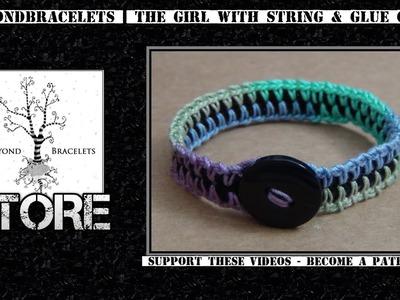 Φ Crochet Spine Bracelet (Single Crochet + Chain)