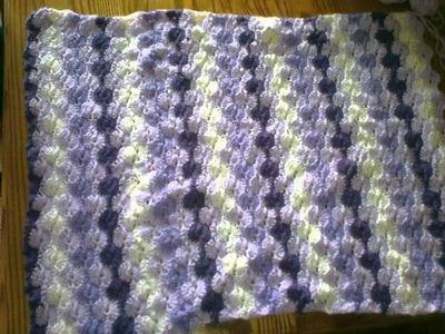 Cobertor do Bebe Crochet