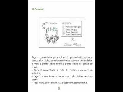 CROCHE - PASSO-A-PASSO BARRADINHO DE CROCHET