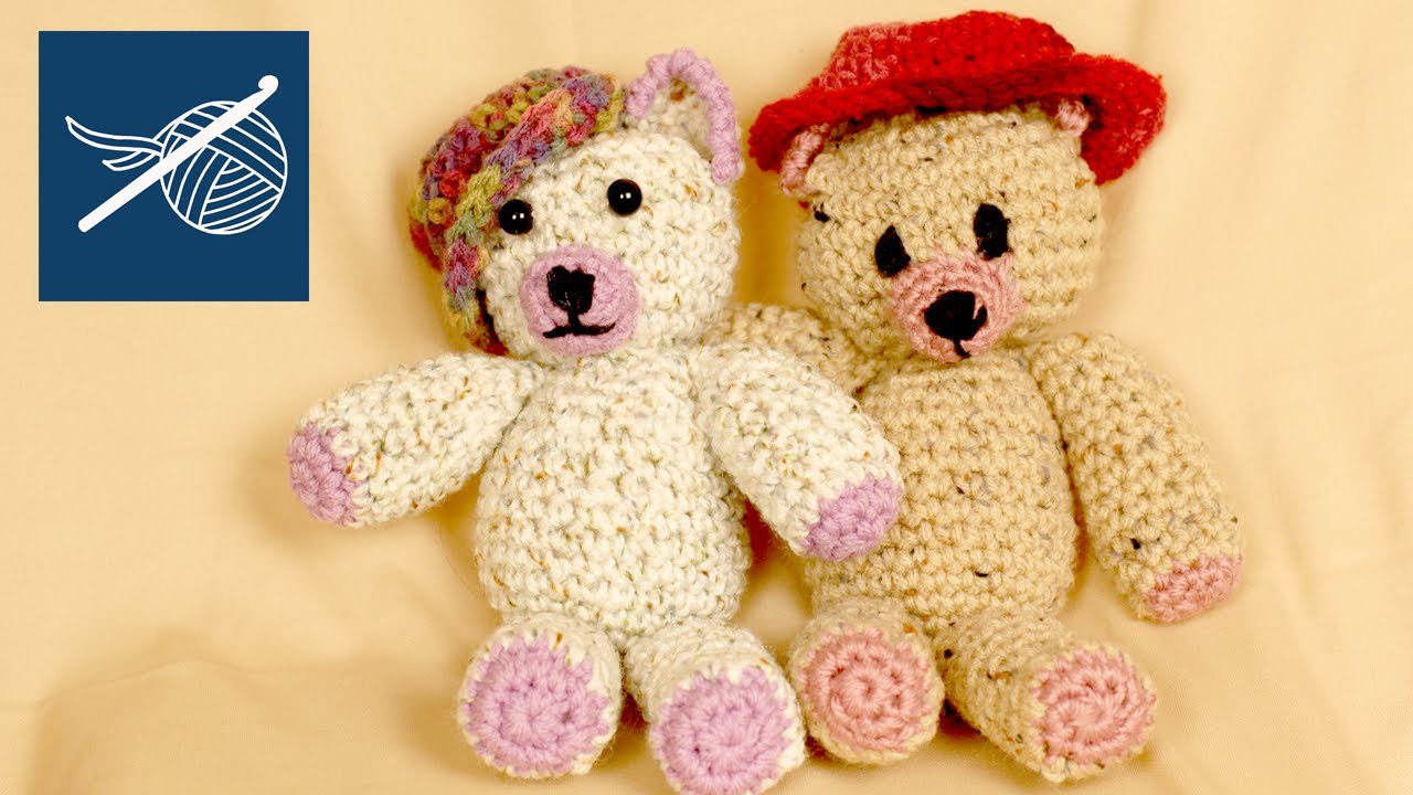 CROCHET BEAR OGEECHEE Amigurumi Left Hand Crochet Geek